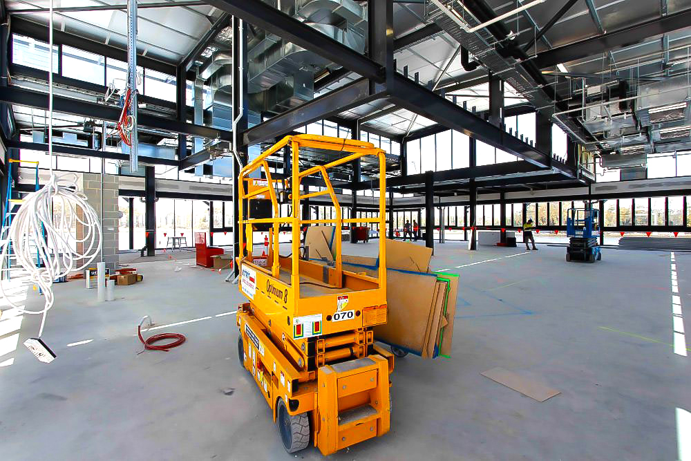 Site Visits when planning commercial kitchen